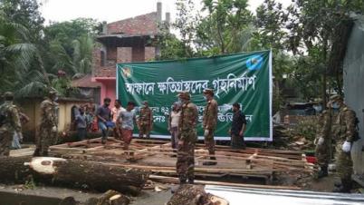 'সেনাবাহিনী দোকান ঘর তুলে না দিলে পথে বসতে হতো'