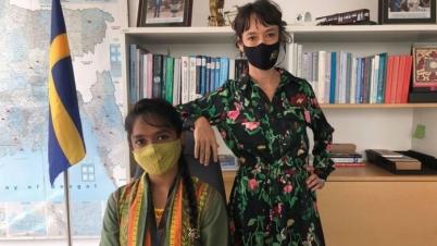 কন্যা দিবসে সুইডিশ রাষ্ট্রদূত হলেন বাংলাদেশি শিক্ষার্থী রুনা