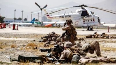 আফগানিস্তানে আইএসের ঘাঁটিতে যুক্তরাষ্ট্রের ড্রোন হামলা
