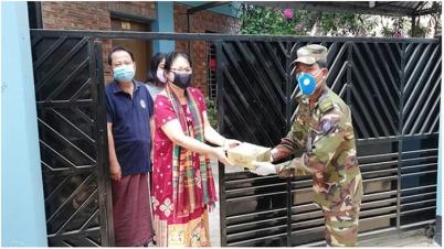 করোনা প্রতিরোধে সোচ্চার বাংলাদেশ সেনাবাহিনী