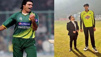 পাকিস্তানে আরেক দানব ক্রিকেটারের আবিভার্ব