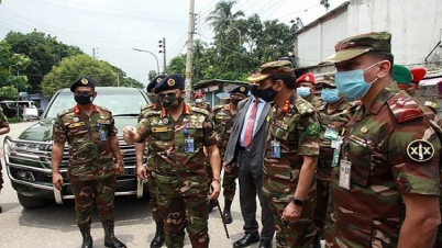 'বাংলাদেশ সেনাবাহিনী সব সময় জনগণের পাশে থাকবে'