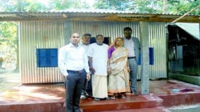 মুক্তিযোদ্ধা মহেন্দ্র নাথ অবশেষে পেলেন ঘর