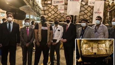 করোনা প্রতিরোধে চিকিৎসা সরঞ্জাম দিয়েছে যুক্তরাষ্ট্র