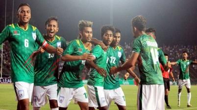 ভারতের বিপক্ষে ১-০ গোলে এগিয়ে বাংলাদেশ