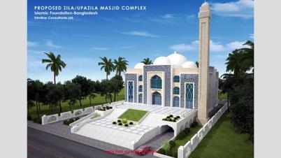 ঝিনাইদহে ৯১ কোটি টাকা ব্যয়ে ৭ মডেল মসজিদ নির্মাণ