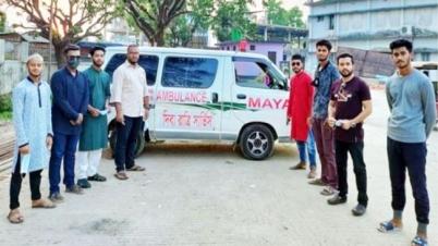 সুনামগঞ্জে ছাত্রলীগের 'জয় বাংলা জরুরি সেবা' কার্যক্রম চালু