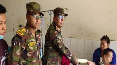 বান্দরবানে অসহায় অর্ণব তঞ্চঙ্গ্যার চিকিৎসার দায়িত্বে সেনাবাহিনী