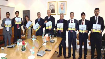 দিল্লীর বাংলাদেশ মিশনের কফি টেবিল বুক প্রকাশ