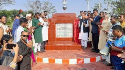 হবিগঞ্জে ৪০ কোটি টাকার ১৩ প্রকল্প উদ্বোধন