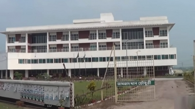 নাটোরে করোনা চিকিৎসায় প্রস্তুত প্রাণ-আরএফএল-এর আইসোলেশন ইউনিট